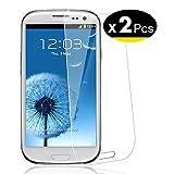 NEW'C Verre Trempé pour Samsung Galaxy S3,[Pack de 2] Film Protection écran - Anti Rayures - sans Bulles d'air -Ultra Résistant...