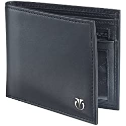 Titan Black Men's Wallet (TW112LM1BK)