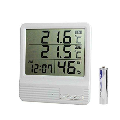 Aiming CX-301A-LCD-Digital-Thermometer-Hygrometer Innen/Außen-Fisch-Behälter-Temperatur-Feuchtigkeits-Messinstrument Wetterstation Tester -