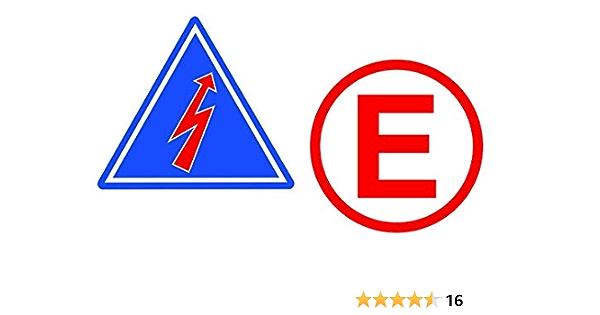 24 7stickers 398 2x Rrennsport Aufkleber Je Ca 7 X 7 Cm E Elektro Pfeil Emergency Racing Rennwagen Motorsport Sticker Tuning Rennen Rally Auto