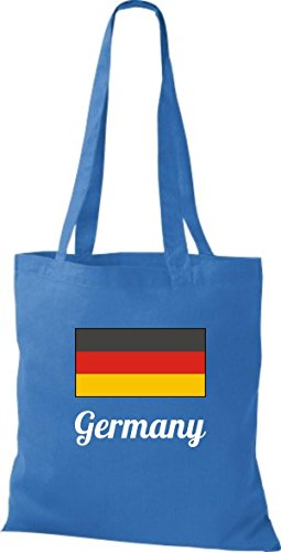 Camicia In Tessuto Borsa In Cotone Borsa Country Iuta Germania Germania Colore Rosa Reale