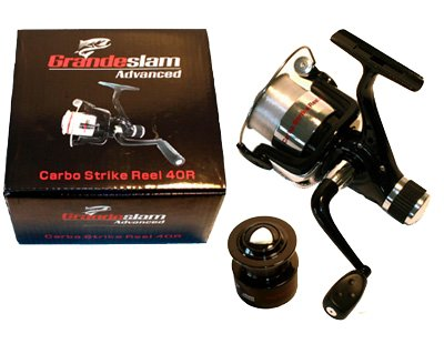 2 x Brand New Grandeslam Carp Coarse Fishing Reels with Line + Spare Spos by Grandeslam