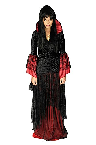 Erwachsene Queen Kostüm Spider Für - Panelize Vampirin Spider-Queen Halloween-Kostüm Gothic
