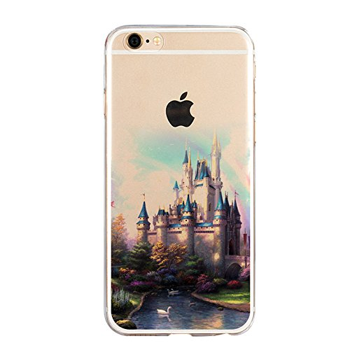 iPhone SE Hülle, iPhone 5S Hülle, iPhone 5 Schutzhülle, Vandot iPhone SE 5 5S Handyhülle Glänzend Malerei Durchsichtig Transparent Muster Pattern Diamant Bling Kristall Case Cover Thin TPU Silikon Wei Color 16