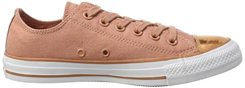 Converse - Chuck Taylor All Star Brush Off, Sneaker Donna Rosso