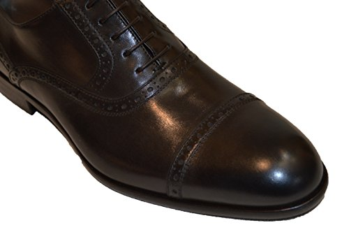 Hugo Boss , Chaussures de ville à lacets pour homme marron foncé