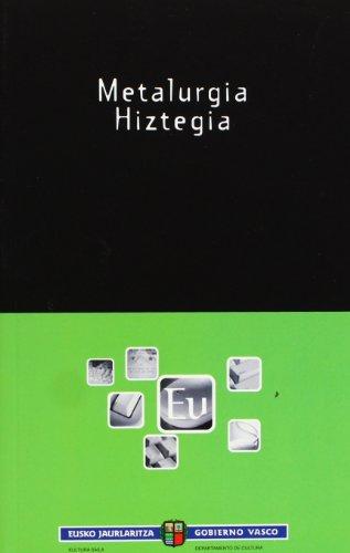 Metalurgia Hiztegia (Euskalterm)