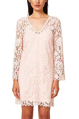 ESPRIT Collection Damen 038EO1E028 Partykleid, Rosa (Pastel Pink 695), 36