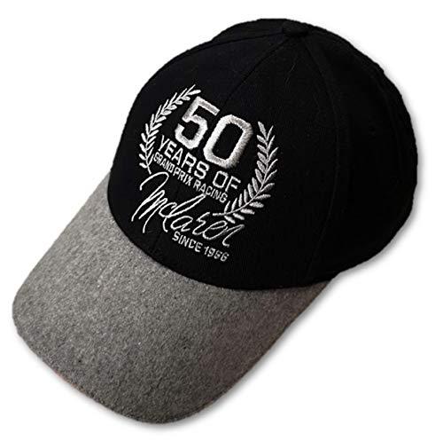 McLaren Gorra Negra de 50 años de Grand Prix Racing F1 Team Members