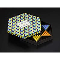 Ridley's Games Room | Chinese Checkers Board Game | Stylish hexagonal box