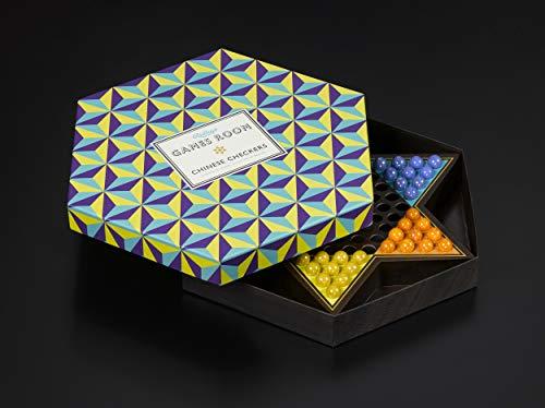 Ridley's Games Room - Juego de Mesa de Cuadros Chinos con Elegante Caja Hexagonal