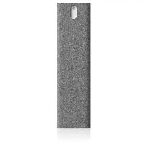 AM Get Clean BLAST 2 in 1 Bildschirmreiniger mit Mikrofasertuch und Spray für Handys, Laptops und Tablets (Grau) - Clean Blast