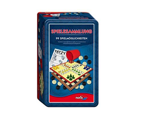 Noris 606112580 - 99-iger Spielesammlung in - Für Monopoly Unterwegs