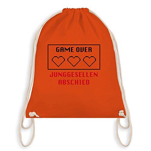 I JGA Herzen Turnbeutel Gym Over Game Bag Orange Junggesellenabschied XtqwnrtA
