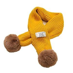 Zyangg-Home Bufanda niños Cálido Invierno de Punto Grueso del niño Infinity Bufanda del Calentador del Cuello Chunky con… 11