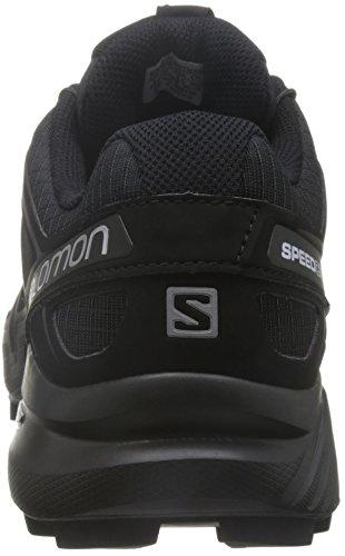 Salomon Herren Speedcross 4 Traillaufschuhe Schwarz (Schwarz/Schwarz/Schwarz-Metallik)