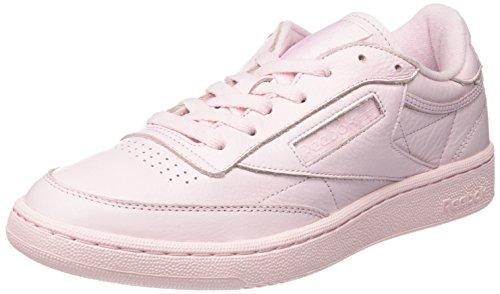 Reebok Herren Club C 85 Elm Gymnastikschuhe, Rosa (Porcelain Pink), 44 EU