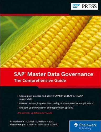 SAP Master Data Governance: The Comprehensive Guide to SAP Mdg