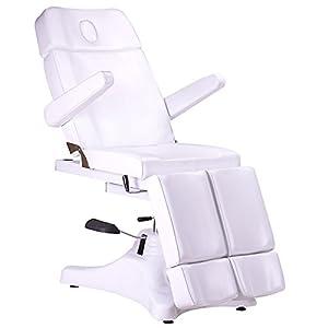 Hydraulische / Mechanische Fußpflegestuhl 120234 weiß