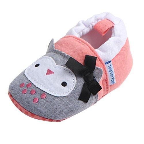 manadlian Chaussures Bébé Garçon Fille Bébé Doux Chaussures Fring Soft Soled Non-Slip Chaussures Chaussures de Crib
