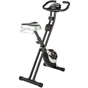 Ultrasport Foldable Exercise Bike with Pulse Sensor Grips 200-B - F-Bike Heavy