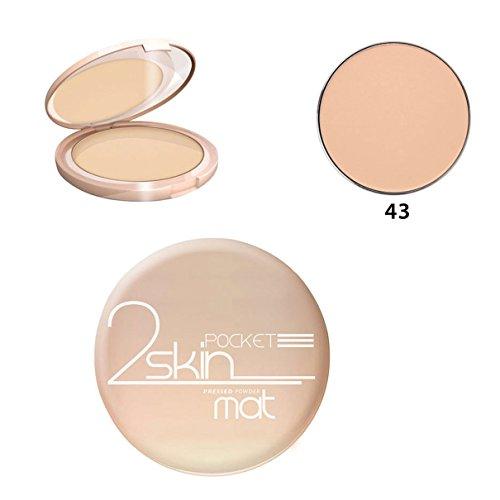 Bell - Poudre 2 Skin Pocket - Fond de teint poudre - Couleur : N°43 Beige