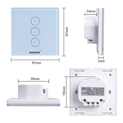 Zoom IMG-1 dinoka wifi roller shutter switch