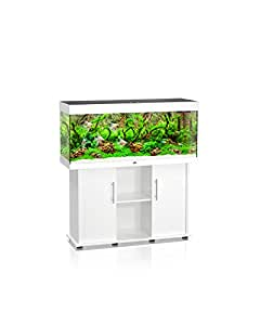 Juwel Aquariumkombination Rio 240, Aquarium mit Unterschrank, Weiss
