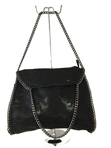 Borsa Donna Nero Spalla Fashion A