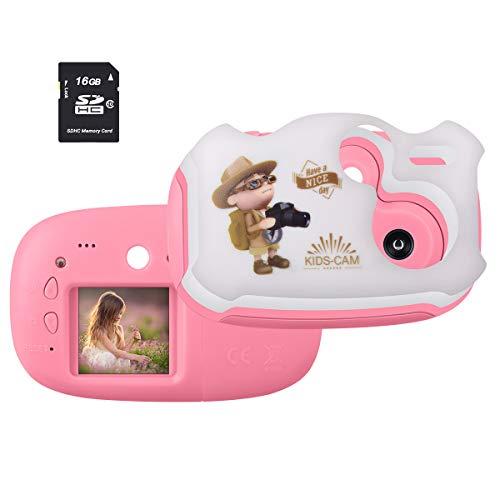 Funkprofi Mini Digitalkamera für Kinder DIY Kamera Kids Camera 1.44