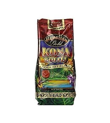 Hawaiian Gold Kona Coffee - 2 Lb Bag of Gourmet Coffee Beans by Hawaiian Gold