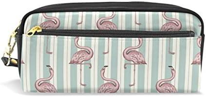 coosun Flamingo étudiants étudiants étudiants Grande Capacité Cuir PU Trousse école Stylet Sac stationnaire cas de maquillage trousse à maquillage B075KR15ZX | Facile à Nettoyer Surface  ed53aa