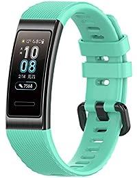 XI-BO_Banda reloj reemplazo Compatible Huawei 3 / 3Pro Smart Watch Correa Pulsera Silicona Respirable