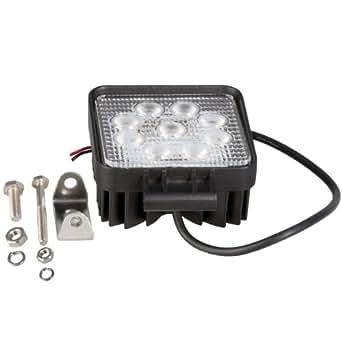 27W Watt LED lumière de travail Lampe inondation 12V/24V Résistant à l'eau IP67 LD80