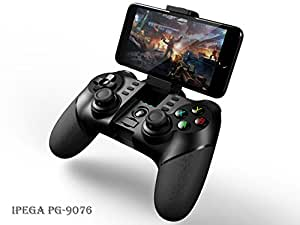 Bluetooth & 2.4G Wireless Gamepad - iPega PG-9076 Game Pad Controller Joystick for Sony PS3, Android Smartphone Tablet, Google Nokia HTC Sony Moto LG Xiaomi Oppo Huawei OnePlus, Samsung Gear VR Headset, TV Box and Windows PC
