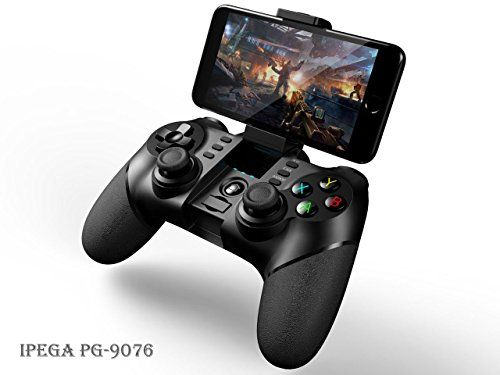 2.4G & Bluetooth Android kabelloses Gamepad - iPega 9076 Drahtloser Spiel-Steuerpult Wireless Controller - PS3, Smartphone, TV Box, Tablet, Samsung, Google HTC Sony Huawei, Gear VR Headset, Windows PC Angry Bird-auto-spiel