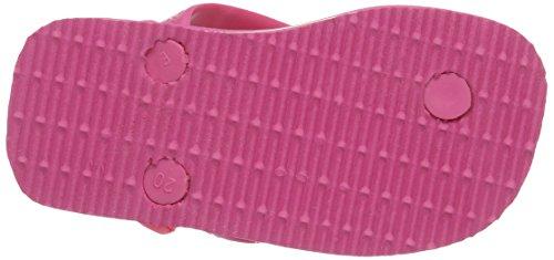 Havaianas Baby Brasil Logo, Tongs bébé fille Pink 0703