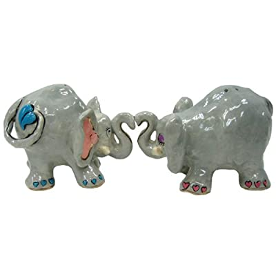 Westland Giftware Studio H Elovephants Salt and Pepper Shaker Set, 3-Inch by Westland Giftware