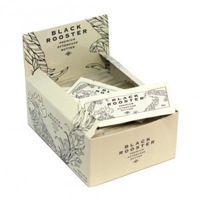 TATTOO BLACK ROOSTER BUTTER BOX 50 bustine 5ml Rooster-box
