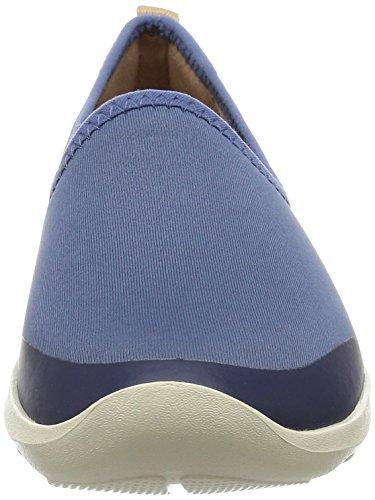 Crocs - Busy Day stretch Skimmer Flat Femmes Bijou Blue/Stucco