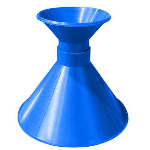 TIREOW Aktualisierung Eisschaber für Autos Werden Trichter Werkzeug Scrape A Round Magic Cone Shaped Eiskratzer Eisschaber Windschutzscheibenkratzer (Blau)