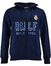 Sudadera Real Madrid Capucha Abierta Adulto d49ecb11bf625