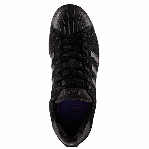 adidas Superstar Vulc ADV, Scarpe da Skate Uomo Nero (Negbas/Negbas/Negbas)