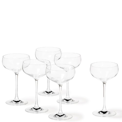 Leonardo 019987 Sektschale Cheers 6-teilig Set
