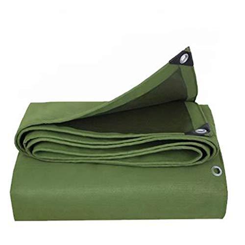 Bâches Toile de auvent de bâche de toile antipluie extérieure de protection solaire de bâche rembourrée (Couleur : Green, taille : 3 * 5m)