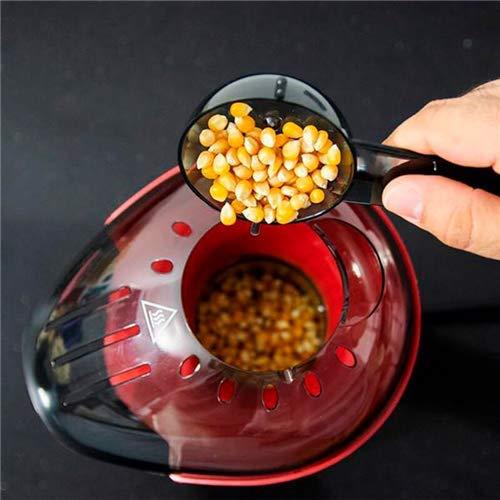 Palomitero eléctrico de aire caliente con funcionamiento por convección. Cuchara dosificadora para echar el maíz dentro. Sistema desmontable para una mejor limpieza. 1200W. Fun&Taste PŽcorn de Cecotec