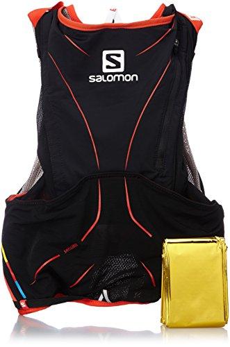Salomon S-Lab Sac d'hydratation Noir/Rouge