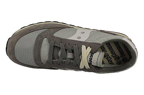 Saucony Vintage Grigio & Bianco Jazz Original Sneakers Grigio