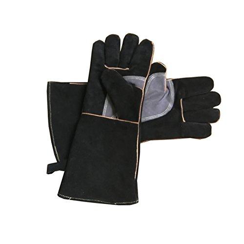 Guantes de piel resistentes al fuego con costuras de Kevlar, ideales para...