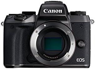 Canon EOS M5 Systemkamera (24.2 Megapixel, APS-C CMOS-Sensor, WiFi, NFC, Full-HD) schwarz